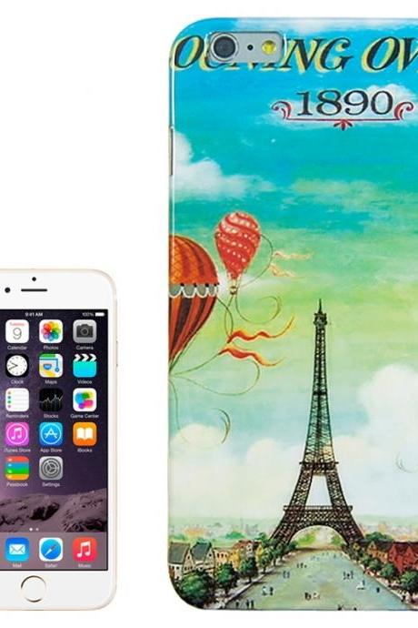 Hot-air Balloon and Tower Pattern TPU Case for iPhone 6 Plus & 6S Plus