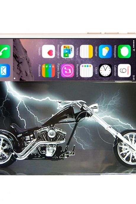 Motorcycle Pattern TPU Case for iPhone 6 Plus & 6S Plus