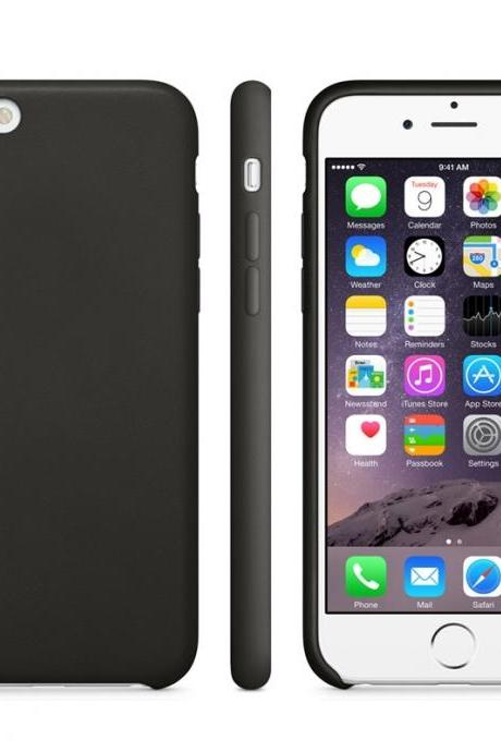 Anti-slip Frosted TPU Case for iPhone 6 Plus & 6S Plus(Black)