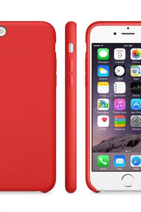 Anti-slip Frosted TPU Case for iPhone 6 Plus & 6S Plus(Red)