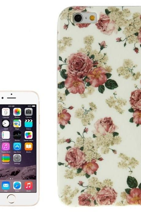 Flowers Pattern TPU Case for iPhone 6 Plus & 6S Plus